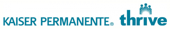 kaiser permanente thrive logo 2017