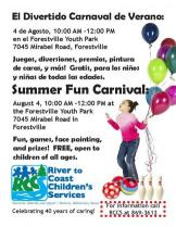 summer carnival august 2017