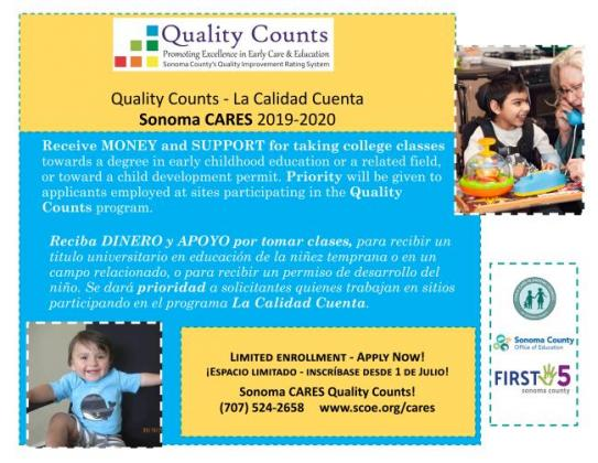 Child Care Connections, Sonoma County