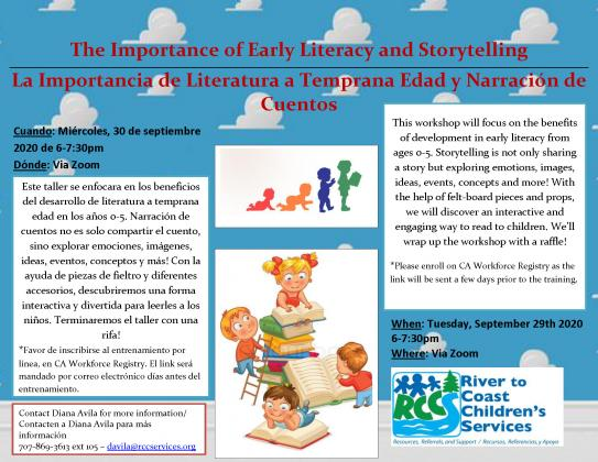early literacy workhop 9-2020
