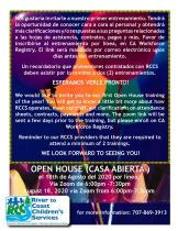 provider open house 8-18-2020