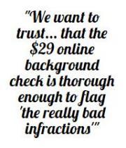trustline information quote