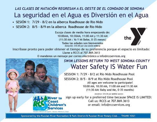 swim lessons 2019 flyer