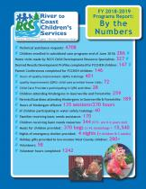 RCCS programs report for funding year 2017- 2018